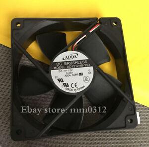 1pcs  ADDA AD1212HB-Y53 DC 12V 0.40A 12032 12CM Ball Bearing Cooling Fan 3pin