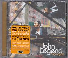 CD 13T JOHN LEGEND ONCE AGAIN 2006 NEUF SCELLE FRENCH STICKER