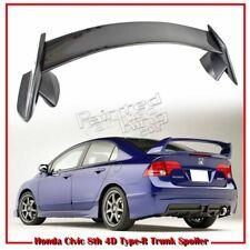 For Civic 4D 08-11 Trunk Spoiler Rear Painted TANGO RED PEARL METALLIC R525P