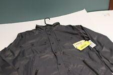 NWT BURTON Seymour Rain Jacket Men's dryride Large color Forged Iron coat hood