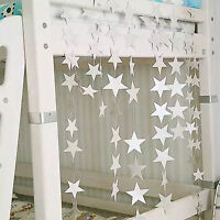 4m Star Hanging Strings Birthday Party Festival Home Dorm Decoration 3 Color