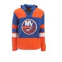 New York Islanders NHL Reebok Kids Youth Size Jersey-Style Hooded Sweatshirt New