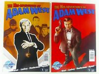 BLUEWATER Prod. THE MISADVENSTURES OF ADAM WEST (2011) #1 COVER A+B Ships FREE
