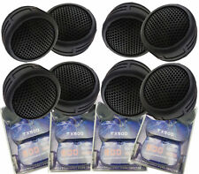 4 Pairs of 1 Inch Car Tweeters Super High Frequency Mini Dome 2000W Total Power