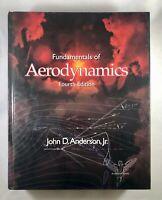 Fundamentals of Aerodynamics Book Fourth Edition John Anderson Jr Aerospace