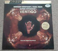 VERTIGO SOUNDTRACK VINYL LP - RARE! - BERNARD HERRMANN - STEREO SRI75117 MERCURY