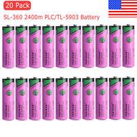 20pcs 3.6V SL-360 TL-5903 TADIRAN PLC Battery for Siemens S7-400 6ES7971-0BA00