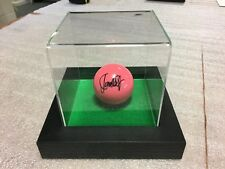 Display Case Ideal For Signed Snooker Ball- Can Also Be Adapted For Golf Etc