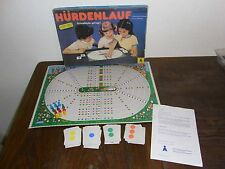 altes DDR Spiel Hürdenlauf VEB Plasticart Annaberg-Buchholz