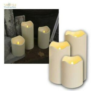 Electric LED Candle for Outdoor, Flickering Flameless Candle Flickering Outdoor
