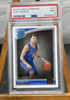 LUKA DONCIC 2018 Panini Donruss RATED ROOKIE #177 Dallas Mavericks Rookie PSA 9