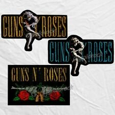 Set Guns N' Roses Embroidered Patches Use Your Illusion Axl Rose Slash Adler