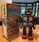 Horikawa Attacking Martian Medallion Busy Cart Arm Robot & Original Japanese Box