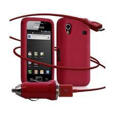 Housse étui coque silicone + Chargeur Auto USB Samsung S5830 Galaxy Ace couleur