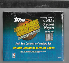 1998-99 TOPPS GOLDEN GREATS BASKETBALL SEALED BOX ALL 18 PLAYERS ARE HOF'ERS