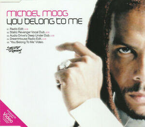 Michael Moog – You Belong To Me / CD Single NM 2001 - 4 Versions & Video