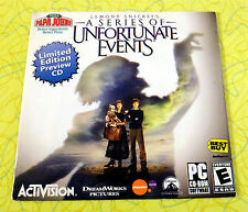 Lemony Snicket's A Series of Unfortunate Events ~ PC CD-Rom Game Preview Promo