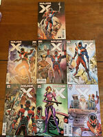 MAJOR X #0-6, Set of 7, FULL RUN - 9.4 NM, ALL 1ST PRINT