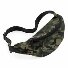 Camo Belt Bag - Army Fancy Dress Costume Military Combat Cadets Bum Pack