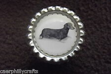S/H Dachshund Dog Show Ring Clip by Curiosity Crafts