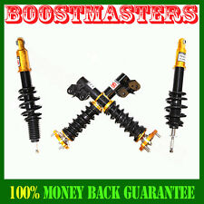 For 2006-2011 Honda Civic Full Coilover Suspension Lowering Kits Non Damper Gold