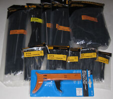 """2,000 Asst Cable Wire Ties 4"""", 6"""", 8"""", 8"""" Mount, & 12"""""""
