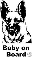 German Shepherd Dog Fun Car sticker graphic decal