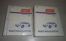 Taller de mano libro 2 volúmenes nissan maxima modelo serie j30-Stand 01/1989