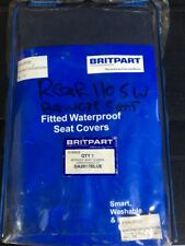 Land Rover Defender Boot Bench Seat Cover Set Waterproof Blue NOS