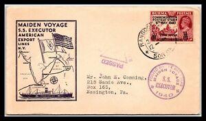 GP GOLDPATH: BURMA COVER 1941 MAIDEN VOYAGE _CV629_P06
