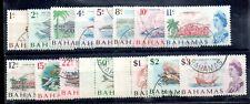 Bahamas QEII 1967 Decimal VFU set #295-309 WS14477