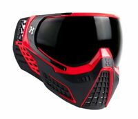 New HK Army KLR Thermal Paintball Goggles Mask - Fire- Black/Red