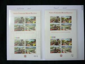 COLLECTION OF RAILWAY STAMPS