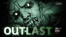 Outlast (PC, Seul le Steam Key Download Code) pas de DVD, Steam Key ONLY