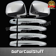 For Lexus Rx 330/350 2004-2006 4Drs Handle W/Out Pksh+Mirror 2Pc Chrome Covers