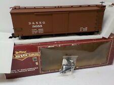 Bachmann 93322 Durango & Silverton N.G. Box Car NIB G Scale
