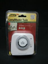 Stanley 56404 LampMaster Twin 2 Outlet 24 Hr Pin Timer