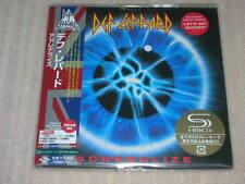 DEF LEPPARD adrenalize JAPAN mini lp SHM CD 12 tracks SEALED BRAND NEW