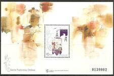 Macau - Traditionelle chinesische Vogelkäfige Block 34 postfrisch 1996 Mi. 850