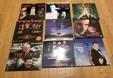 Lot of 9 Laserdisc