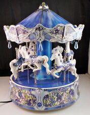 Ardleigh Elliott Dream Dancers Tiffany Dragonfly Illuminated Musical Carousel