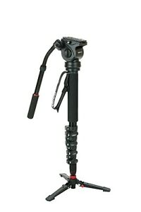 Kenro Travel Video Monopod Kit for DSLR & Camcorder with Case for Photography