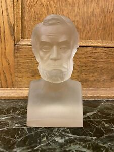 Antique Gillinder And sons Abraham Lincoln Glass Centennial Exhibition