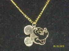 Mickey Mouse Goldtone Necklace