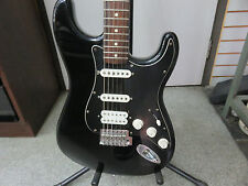 Fender Stratocaster Black 2008-2009 Made in Mexico Guitar