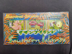 Pokemon Southern Islands Tropical Island jungle Japan 1998 seald