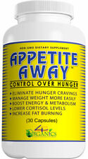 Appetite Away Diet / Weight Loss / Hunger Suppressant Supplement (30 Capsules)
