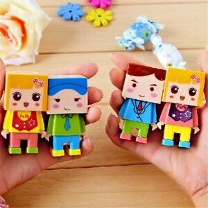 Cute Character Pencil Sharpener & Eraser Set