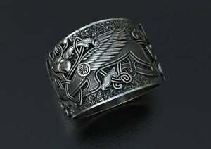 Classic Designed Men's Ring-Stud Ring-Bikers Ring-Unique Pattern Made Up On Ring
