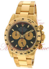 "Rolex Cosmograph Daytona ""Paul Newman"" Yellow Gold on Bracelet Chrono 116528"
